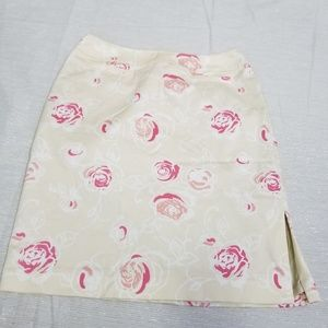 Liz Claiborne Rose Floral Pattern Pencil SZ 8P